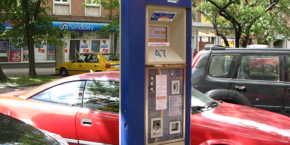 Bez mandatów za parkowanie przy parkometrze