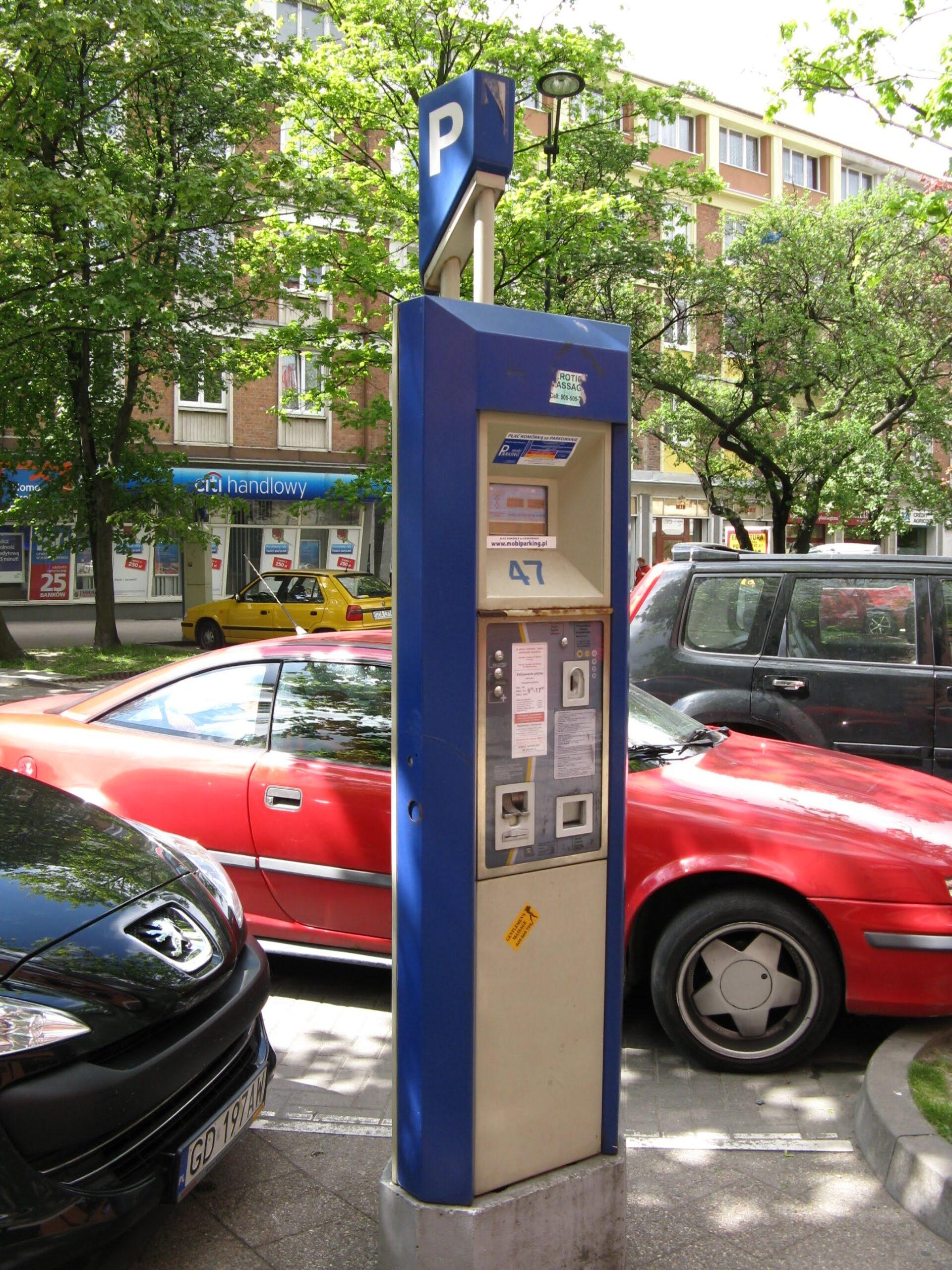 Parkowanie przy parkometrze - jakie grożą mandaty?