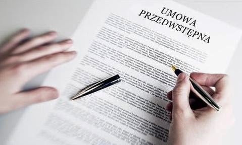 Umowa przedwstępna - cechy, pojęcie, funkcja