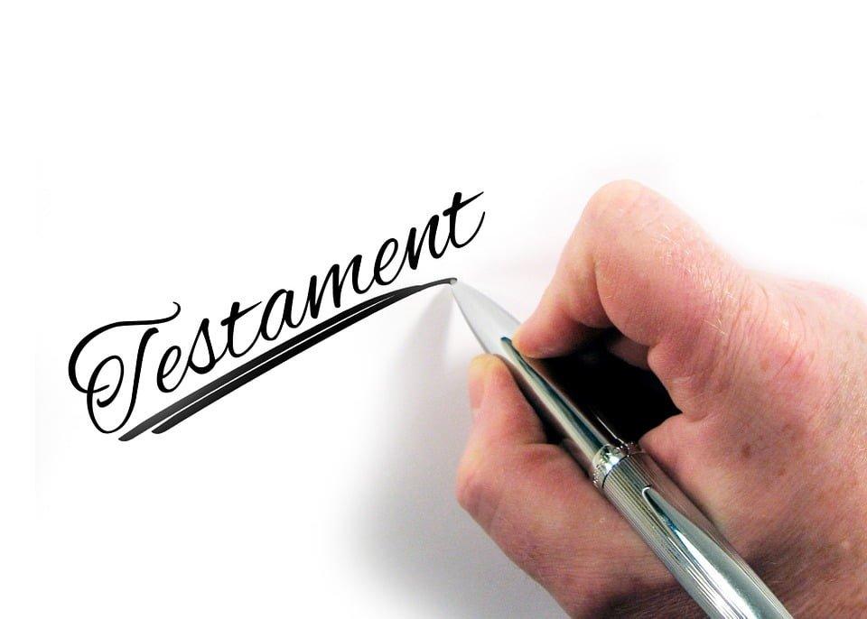 Nieważność testamentu