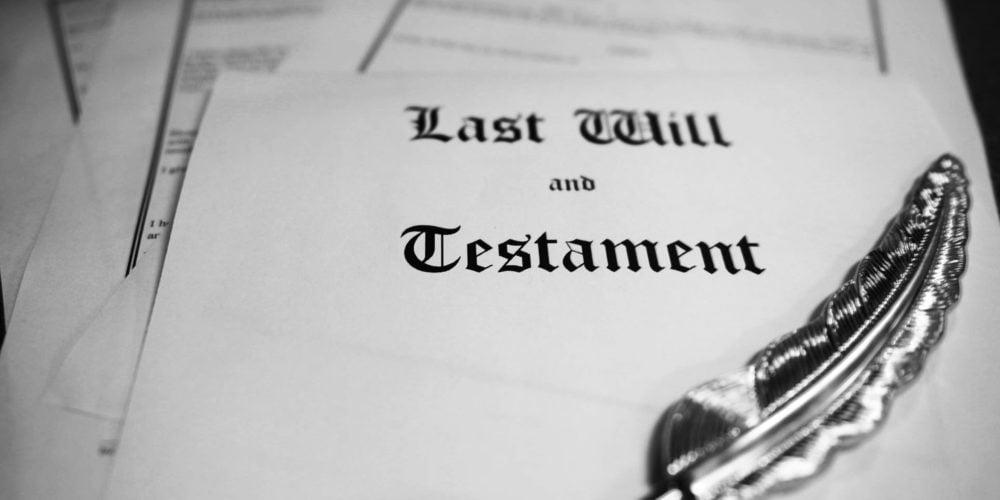 Alfabet prawa: T jak testament