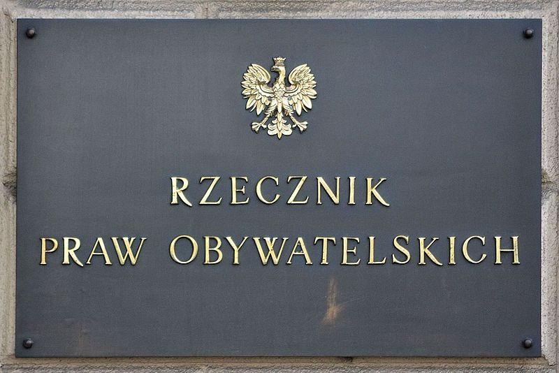 W obronie Twoich praw - Rzecznik Praw Obywatelskich