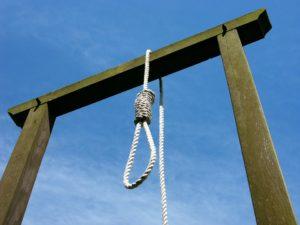 Mniej wyroków śmierci na świecie