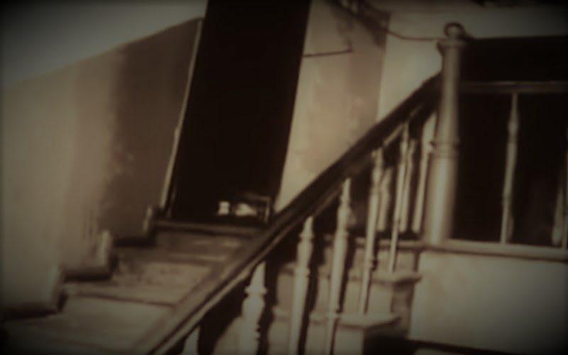 Wejście do mieszkania Bogdana Arnolda - 1967 r.