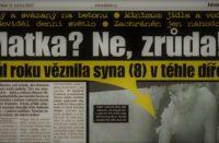 Fragment czeskiej prasy (fot.blesk)