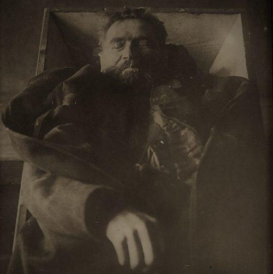 Karl Denke - fotografia pośmiertna
