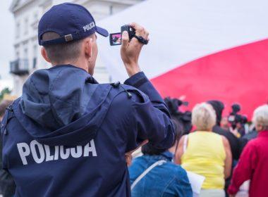 Kamery osobiste dla policjantów - pilotaż zakończony sukcesem