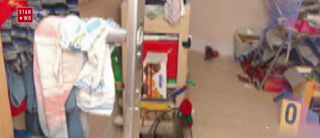 Fragment niewielkiego pokoju, w którym więziono Natashę