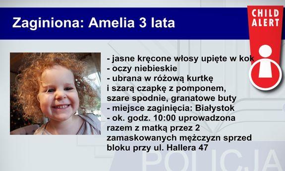 porwanie dziecka, UWAGA! Porwanie dziecka w Białymstoku! Policja szuka sprawców