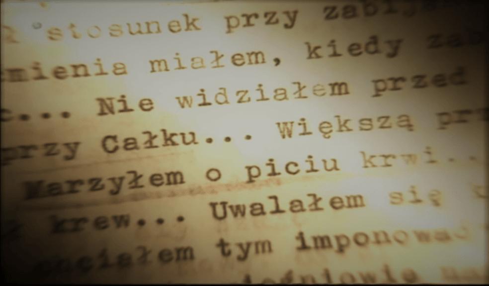 Fragment zeznań Karola Kota (screenshot - Discovery/YouTube)