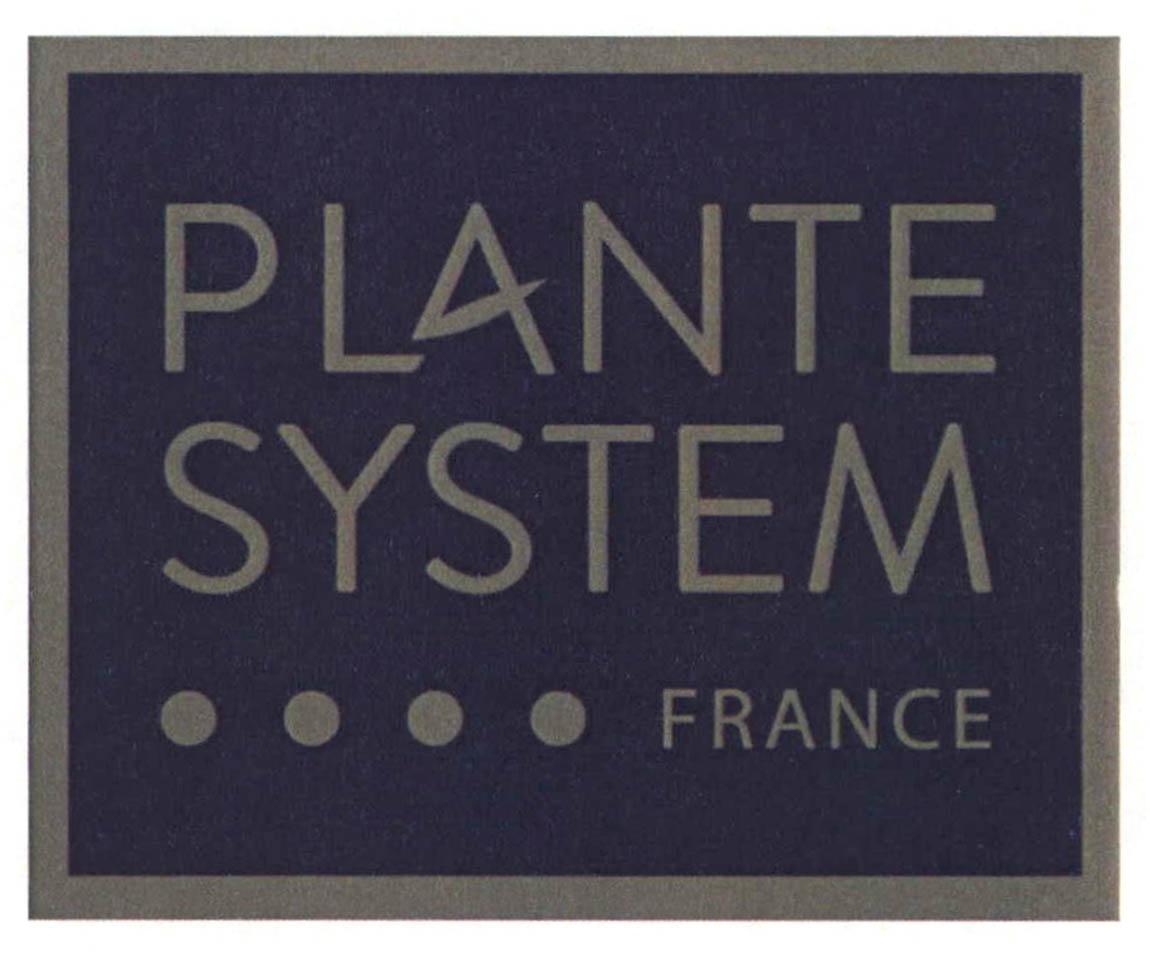 Hologram marki Plante System