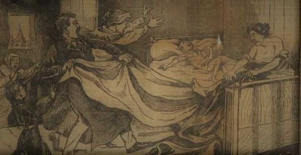 Jeanne Weber mordująca chłopca - wycinek z prasy