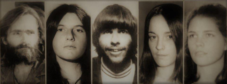 Od lewej: Charles Manson, Patri