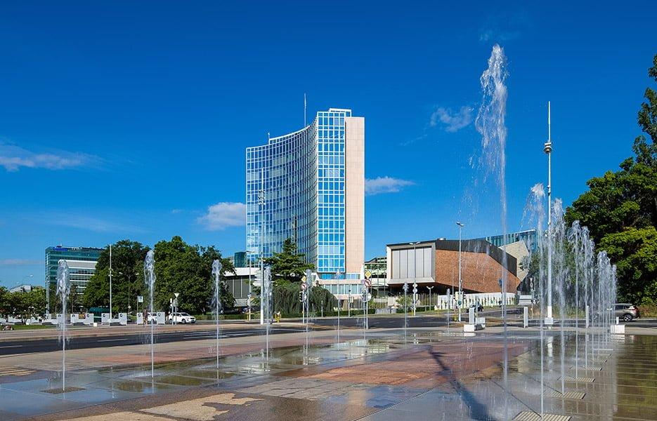 Siedziba Światowego Urzędu Patentowego (WIPO)