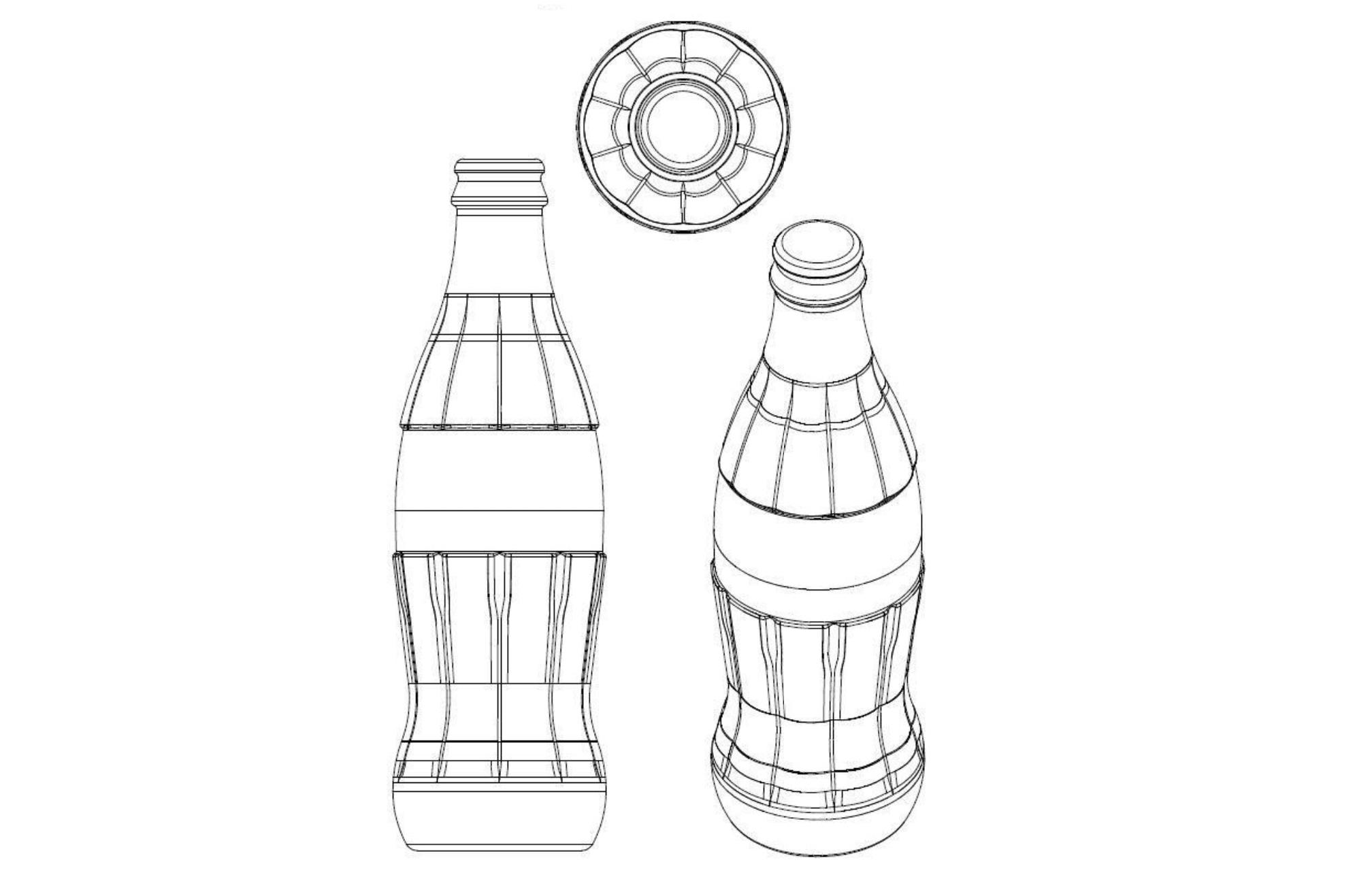 Coca-Cola kształt butelki posiadającej zdolność odróżniającą (wtórna zdolność odróżniająca)