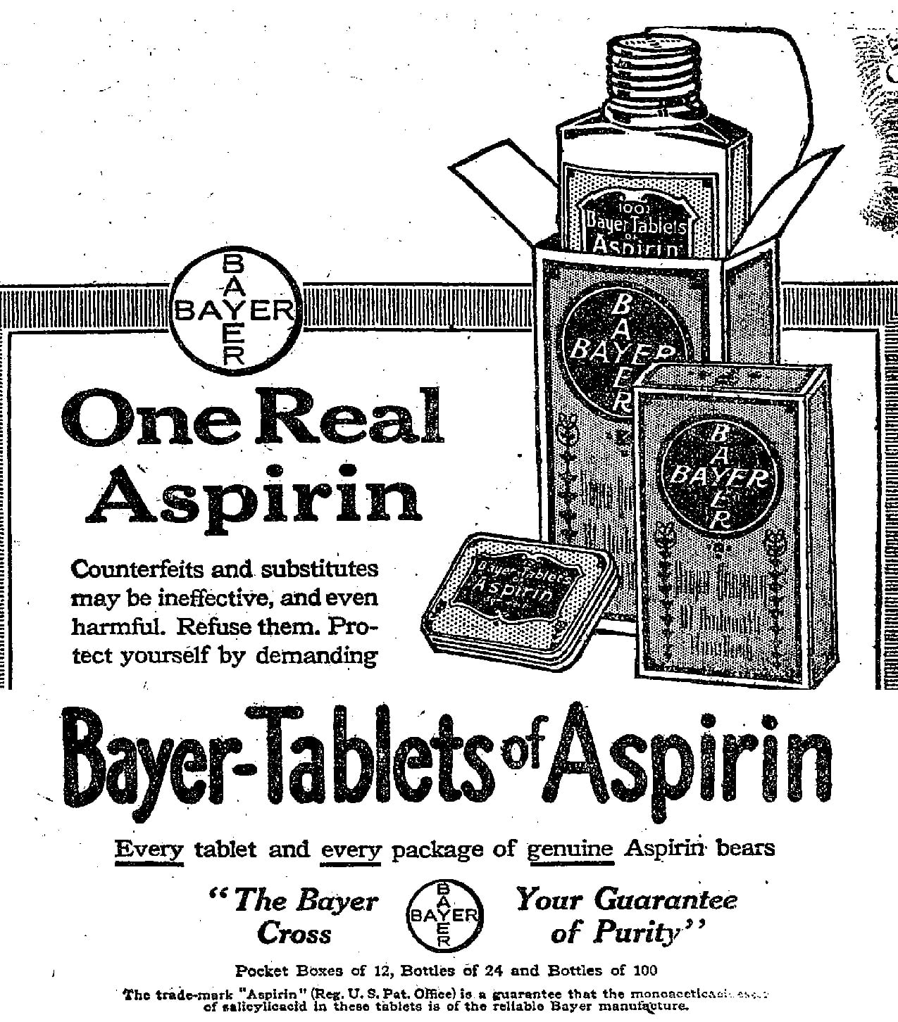 Aspiryna Tabletki (degeneracja znaku towarowego)