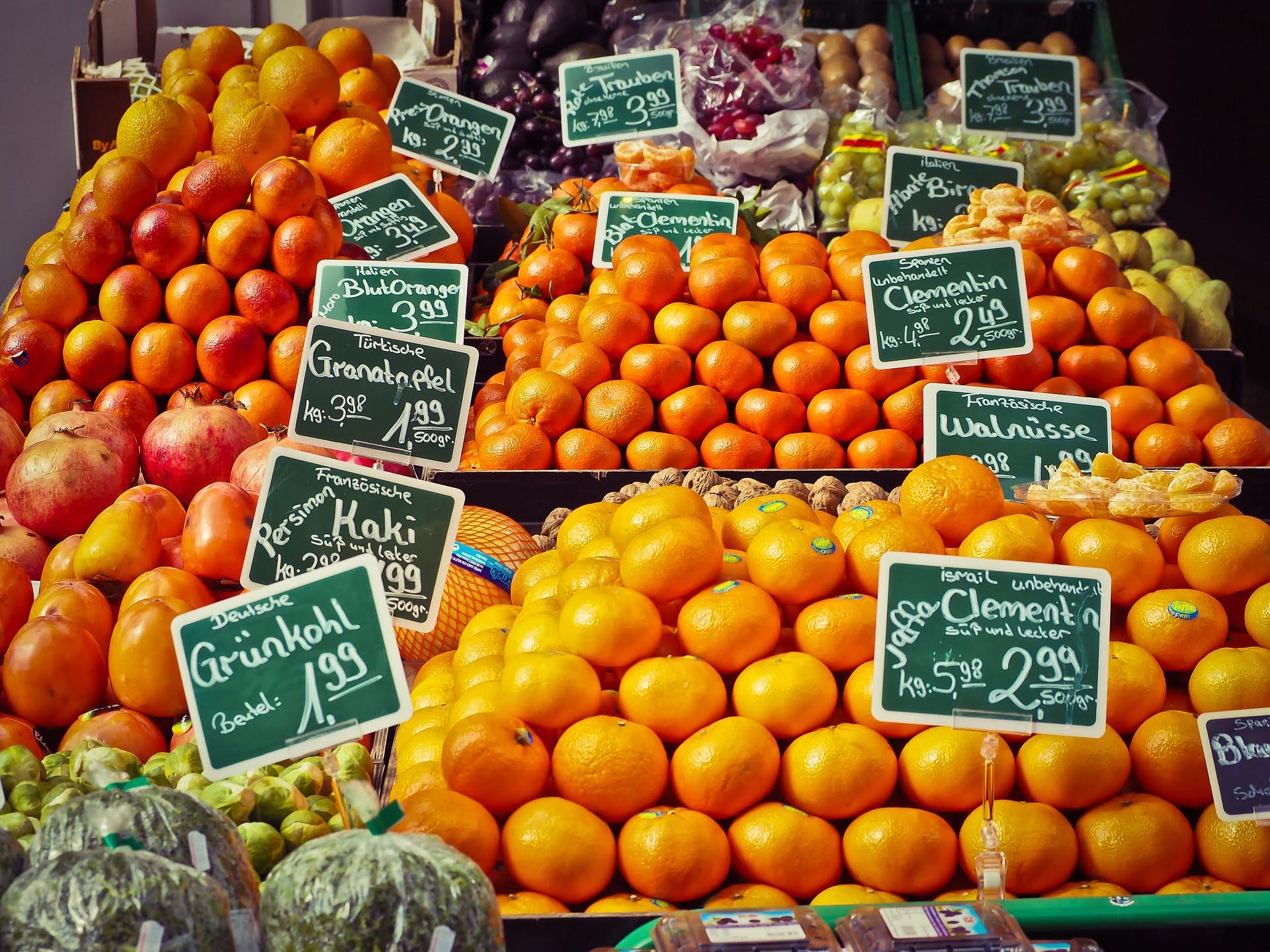 Sklep z pomarańczami (słowny znak towarowy)