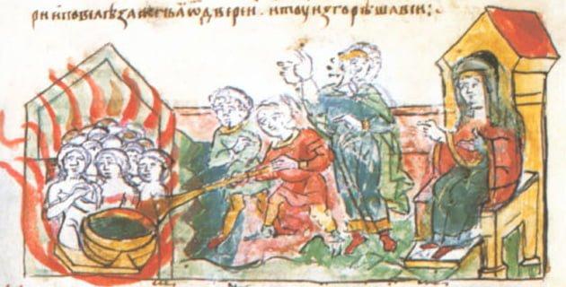 Olga Kijowska, Seryjna morderczyni, którą kościół uznał za świętą