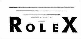 Rolex Logo pasożytnicze (renomowany znak towarowy)