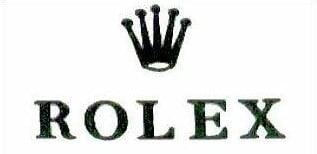 Rolex logo (renomowany znak towarowy)