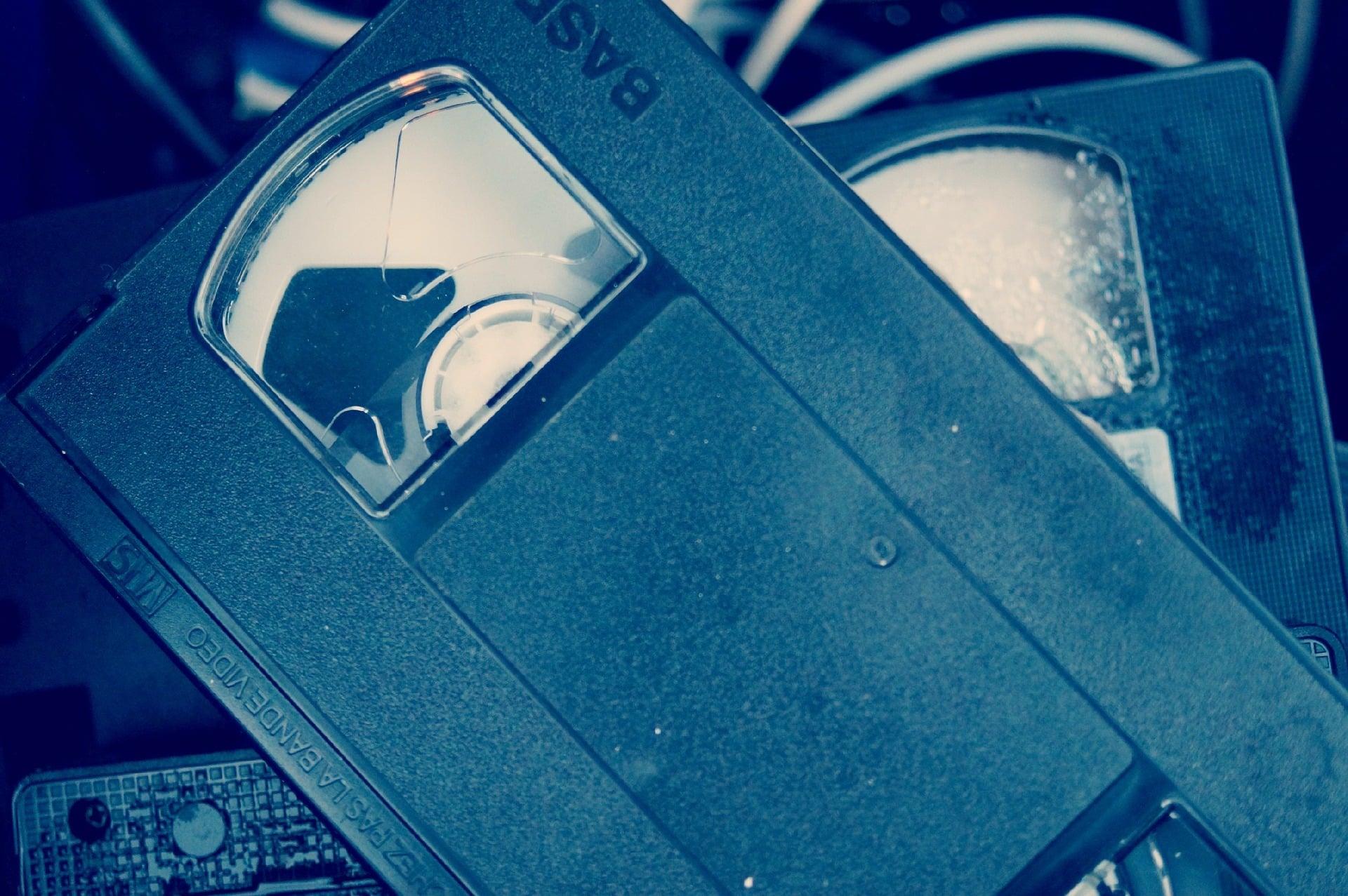 Prawa pokrewne - czym jest wideogram? (na zdjęciu: kaseta VHS)