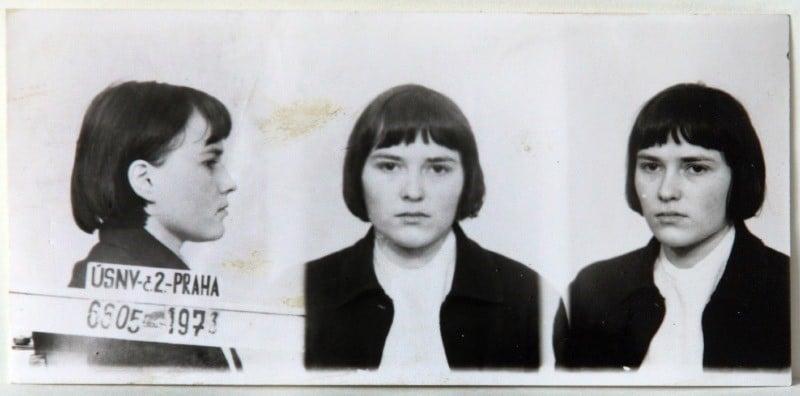 Olga Hepnarova - zdjęcie policyjne