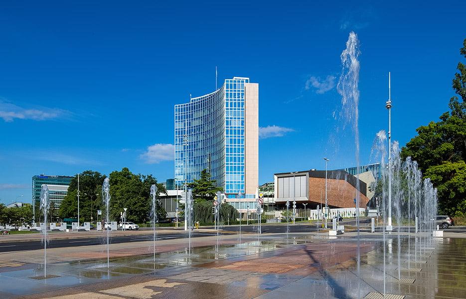 Główna siedziba Światowej Organizacji Własności Intelektualnej (WIPO)